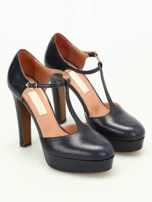 L' Autre Chose: court shoes online - Leather d'orsay pumps