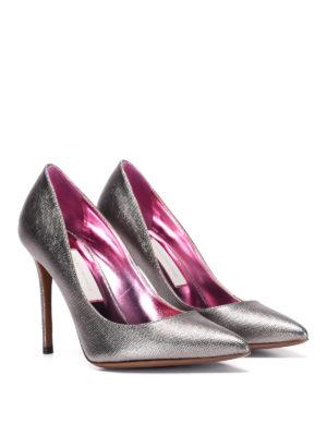 L' Autre Chose: court shoes online - Metallic pumps