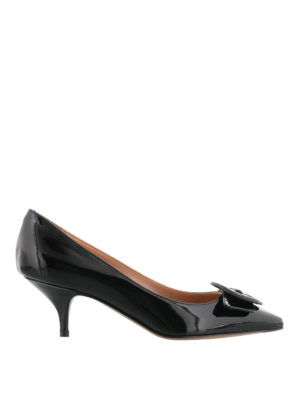 L' Autre Chose: court shoes - Patent leather kitten heel pumps