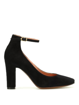 L' Autre Chose: court shoes - Suede mary jane pumps