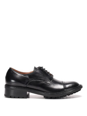 L' Autre Chose: lace-ups shoes - Lug sole detail leather Derby