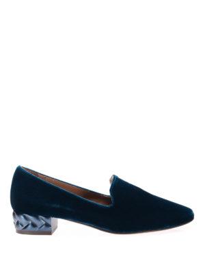 L' Autre Chose: Loafers & Slippers - Velvet slippers