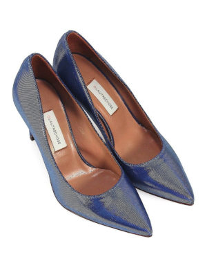 L' AUTRE CHOSE: scarpe décolleté online - Décolleté in canneté bluette