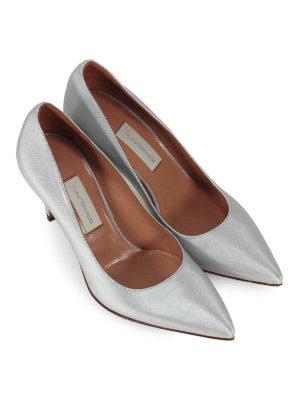 L' AUTRE CHOSE: scarpe décolleté online - Décolleté in canneté azzurro