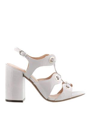 L' Autre Chose: sandals - Eyelets detail multi strap sandals