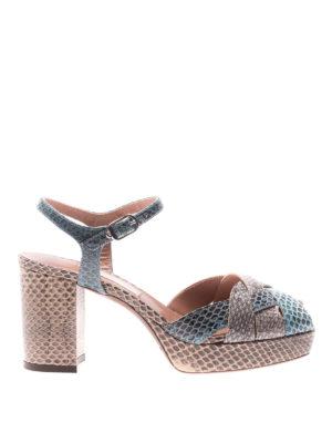 L' Autre Chose: sandals - Tricolour ayers open toe sandals
