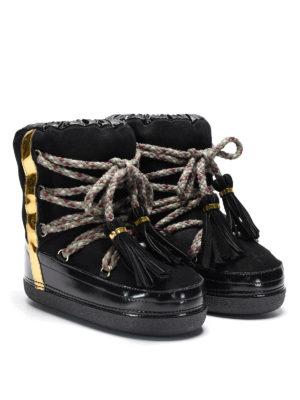 L' Autre Chose: snow boots online - Tassels detail suede snow boots