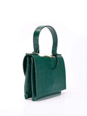 L' Autre Chose: totes bags online - Circle lizard skin bag