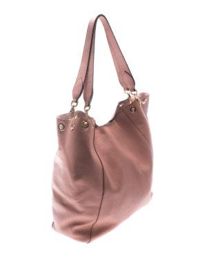 L' Autre Chose: totes bags online - Powder leather tote