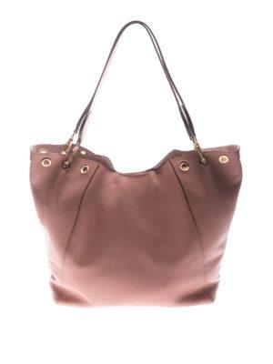 L' Autre Chose: totes bags - Powder leather tote