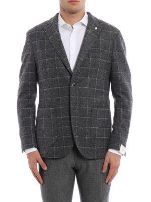 L.B.M 1911: blazers online - Wool blend unstructured blazer