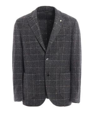 L.B.M 1911: blazers - Wool blend unstructured blazer