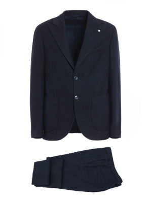 L.B.M 1911: formal suits - Cotton and wool blend suit