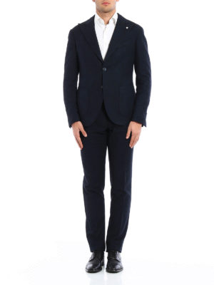 L.B.M 1911: formal suits online - Cotton and wool blend suit