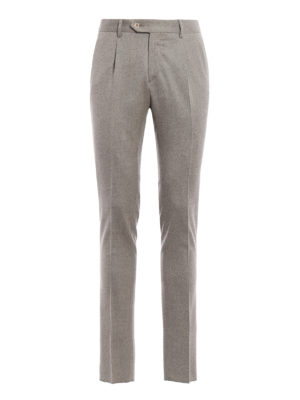 L.B.M 1911: Tailored & Formal trousers - Melange wool trousers