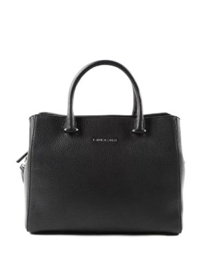 Lancaster: bowling bags - Hammered leather bowling bag