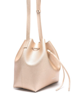 Lancaster: Bucket bags online - Saffiano leather small bucket bag
