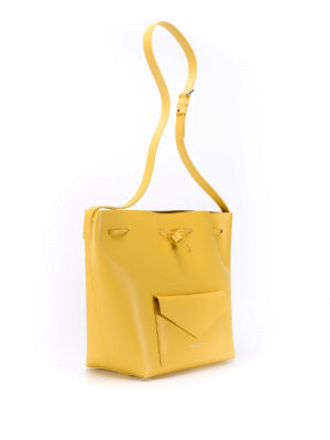 Lancaster: Bucket bags online - Smooth leather large bucket bag