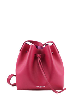 Lancaster: Bucket bags - Pur saffiano leather bucket bag