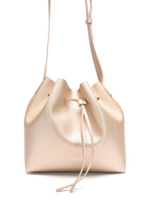 Lancaster: Bucket bags - Saffiano leather small bucket bag