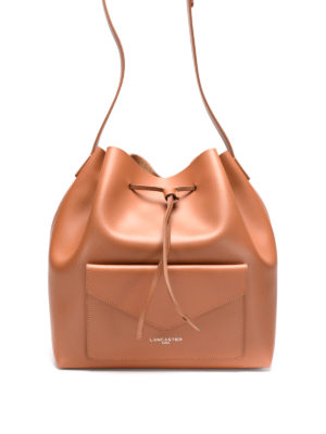 Lancaster: Bucket bags - Smooth leather large bucket bag