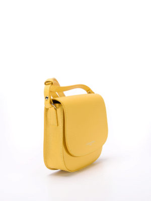 Lancaster: cross body bags online - Flap detail saffiano crossbody bag