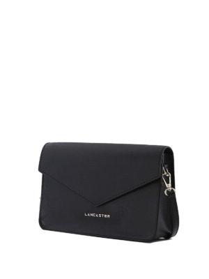 LANCASTER: borse a tracolla online - Mini borsa nera in pelle Saffiano
