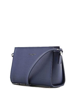 LANCASTER: borse a spalla online - Tracolla blu in pelle Saffiano