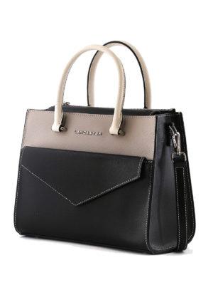 LANCASTER: shopper online - Piccola borsa a mano in tre colori