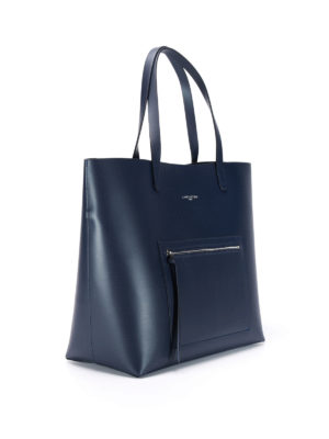 Lancaster: totes bags online - Smooth leather tote