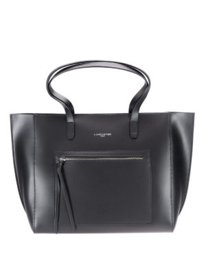 Lancaster: totes bags - Smooth leather tote