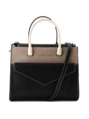 LANCASTER: shopper - Piccola borsa a mano in tre colori