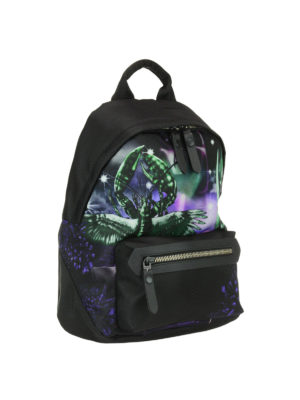 Lanvin: backpacks online - Exclusive print nylon backpack