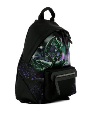 Lanvin: backpacks online - Flying Lobster print nylon backpack