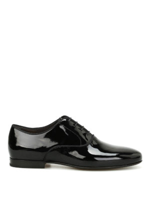 Lanvin: classic shoes - Patent leather Oxford shoes