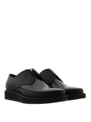 Lanvin: lace-ups shoes online - Milled sole leather Derby