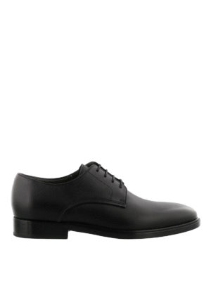 Lanvin: lace-ups shoes - Smooth leather derby shoes
