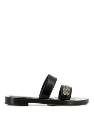 Lanvin: sandals - Embellished double strap sandals