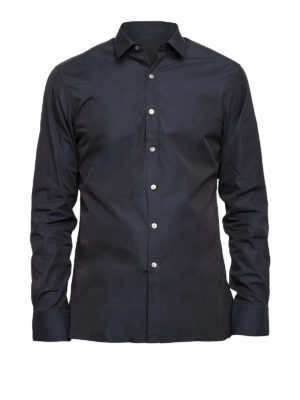 Lanvin: shirts - Muslin cotton classic shirt