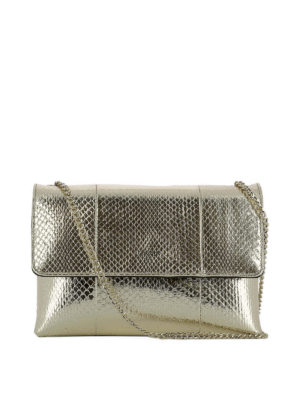 Lanvin: shoulder bags - Sugar gold-tone shoulder bag