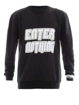 Lanvin: Sweatshirts & Sweaters - Enter Nothing print sweatshirt
