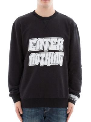 Lanvin: Sweatshirts & Sweaters online - Enter Nothing print sweatshirt