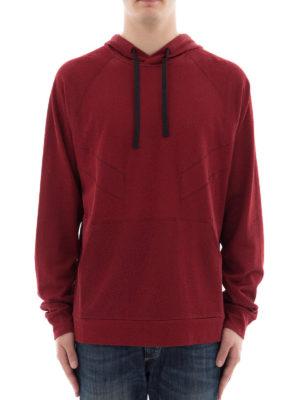 Lanvin: Sweatshirts & Sweaters online - Printed back hoodie
