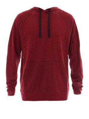 Lanvin: Sweatshirts & Sweaters - Printed back hoodie