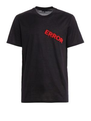 Lanvin: t-shirts - Error embroidered T-shirt
