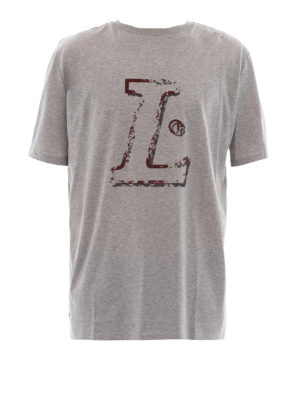 Lanvin: t-shirts - L grey T-shirt