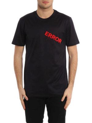 Lanvin: t-shirts online - Error embroidered T-shirt