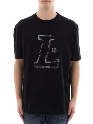 Lanvin: t-shirts online - L black T-shirt