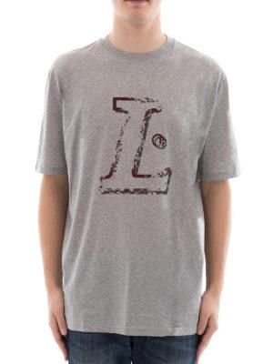 Lanvin: t-shirts online - L grey T-shirt