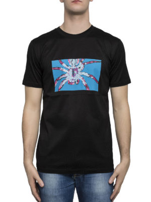 Lanvin: t-shirts online - Spider print classic cotton T-shirt